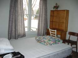 Bedroom 1 at Maple Court Cottages Port Dover Ontario Canada