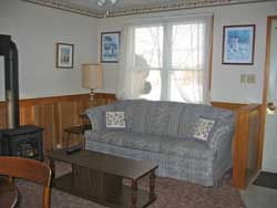 Living Room at Maple Court Cottages Port Dover Ontario Canada